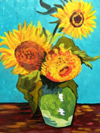 VanGoghSunflowers