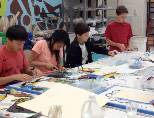 Ceramics Camp At Richard Montgomery High School