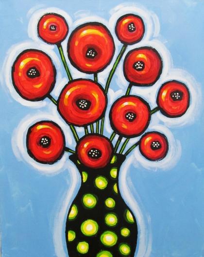 poppies&pokeadots