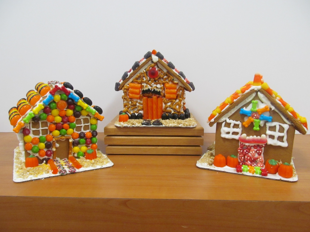 halloween gingerbread house all ages