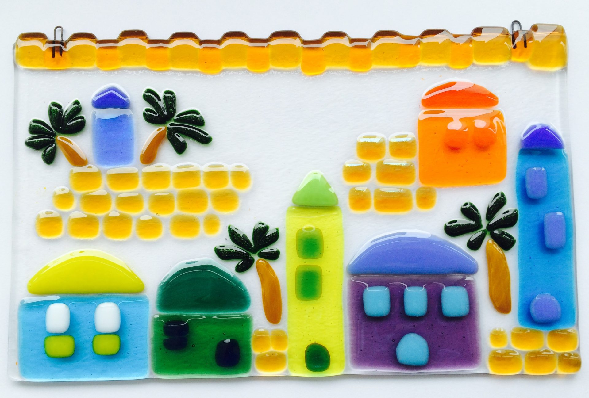 Jerusalem Fused Glass Wall Hanging: All Ages | VisArts