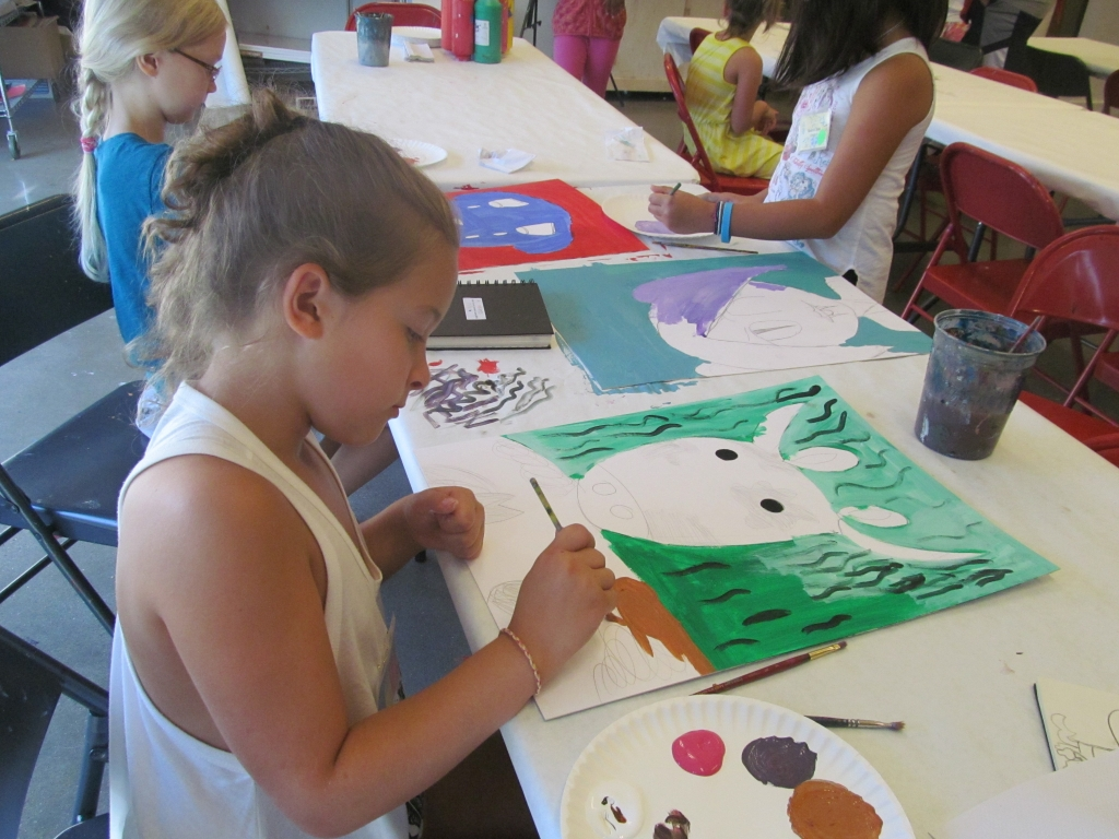 Art Intensive Am Week 8 Age 9 12 Painting Drawing