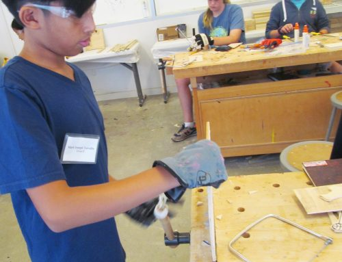 Teen Camp: Woodworking