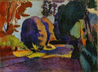 Henri-Matisse-The-Luxembourg-Gardens-