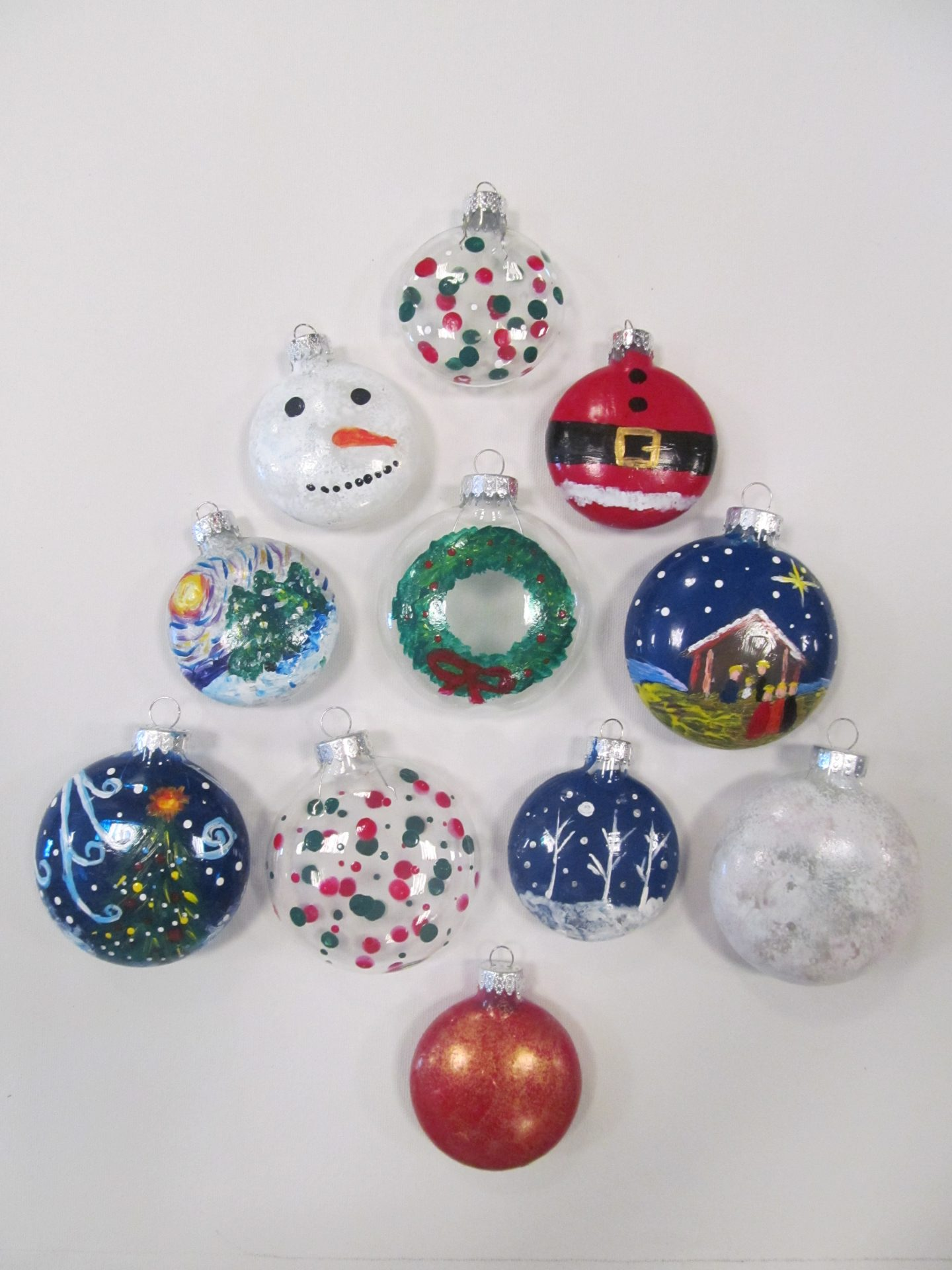 Paint your own glass ornaments visarts solutioingenieria Image collections