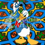 justin v.Donald Duck copy