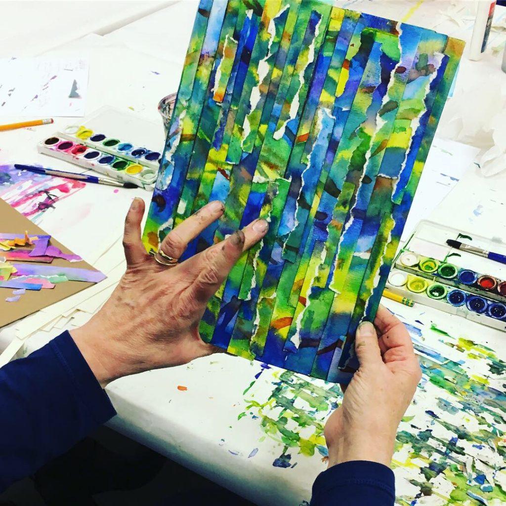 Abstract Art Watercolor
