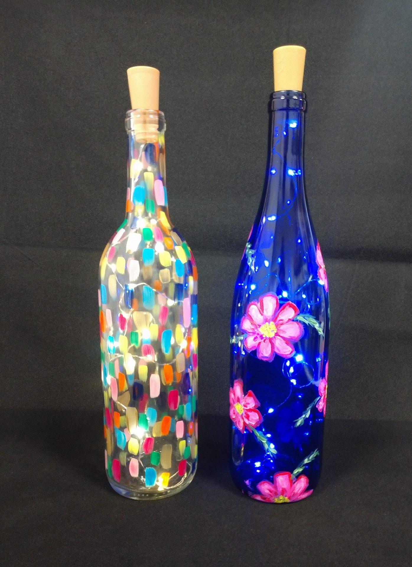 Wine Bottle Painting Materials Visarts