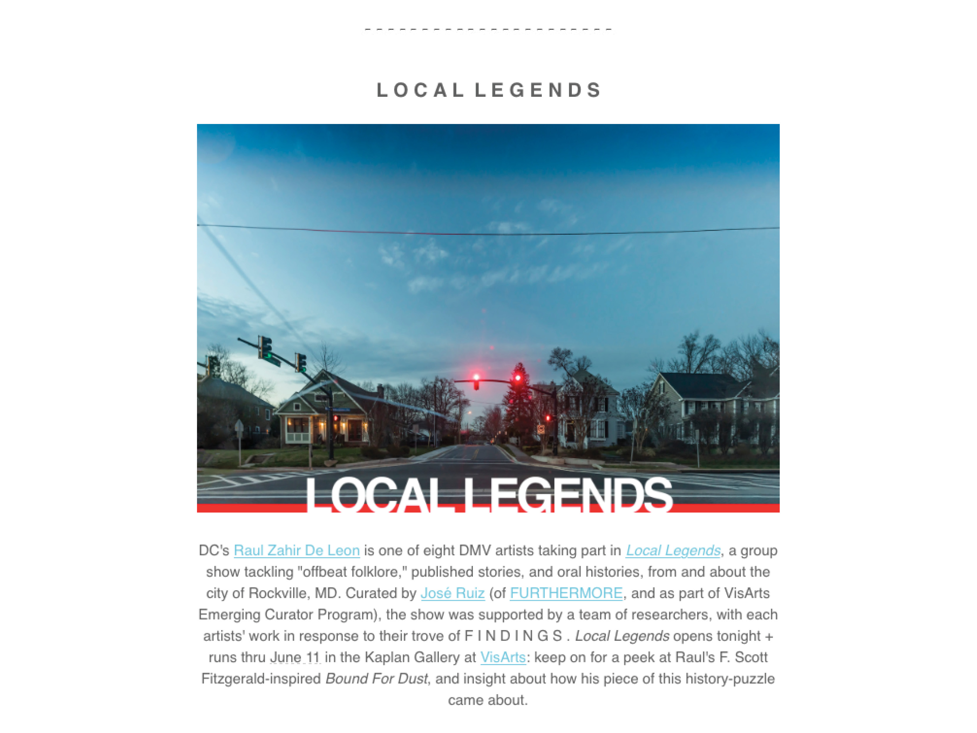 Local Legends Page 1